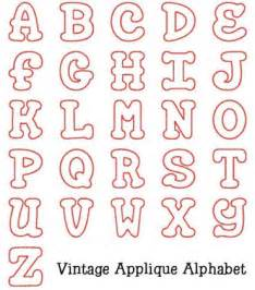 applique alphabet templates letter applique patterns free appliq patterns