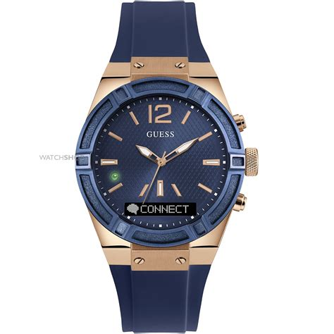 Jam Tangan Guess Unisex Ab Gold unisex guess connect bluetooth hybrid smartwatch