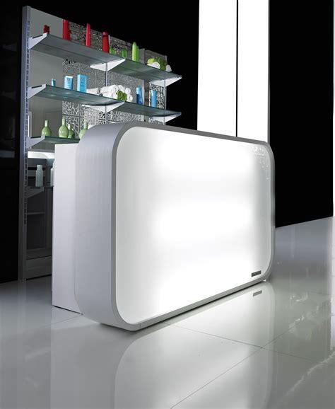 Led Reception Desk Salon Ambience Rd131 Matrix Italian Reception Desk W Led Lights