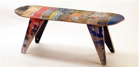 skateboard furniture skateboard benches