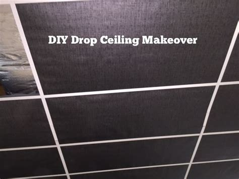 diy drop ceiling makeover my brand drop