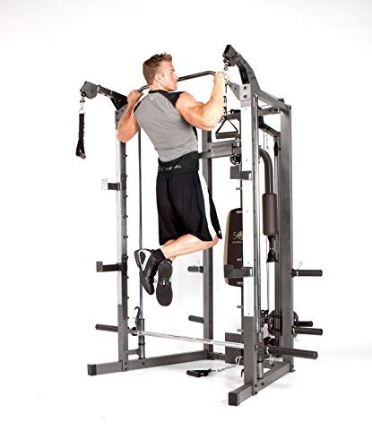 marcy smith machine with bench and weight bar home