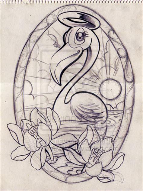 Celana Flaminggo flamingo by winzer tattoos