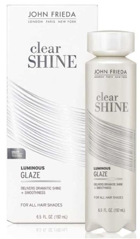 frieda luminous color glaze clear shine banish hair issues with these new styling helpers