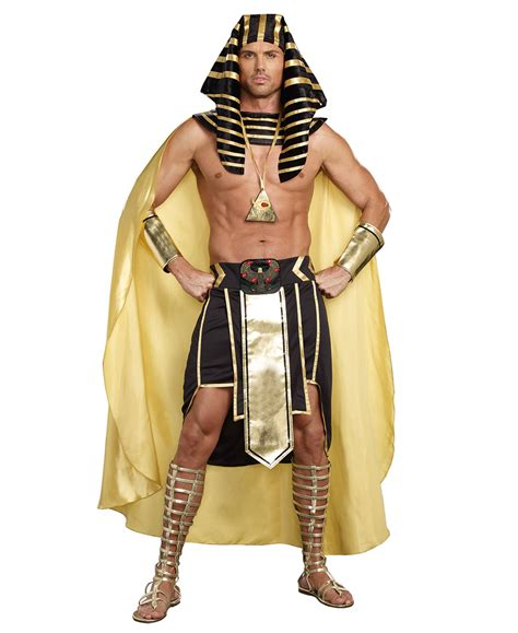 clothing shoes accessories costumes womens costumes king of egypt pharaoh mens costume dreamgirl 9893 ebay
