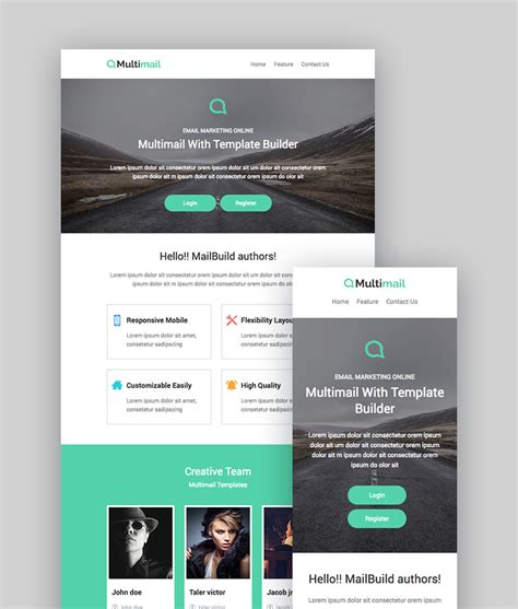 Best Mailchimp Templates To Level Up Your Business Email Newsletter 2018 Free Responsive Email Template Mailchimp