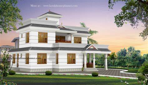 stylish low cost 1800 sq ft 4 bhk contemporary house design 20 lakhs budget house plans in kerala