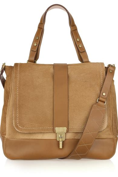 Leopile Bag lanvin lovely leopold leather and calf hair shoulder bag net a porter