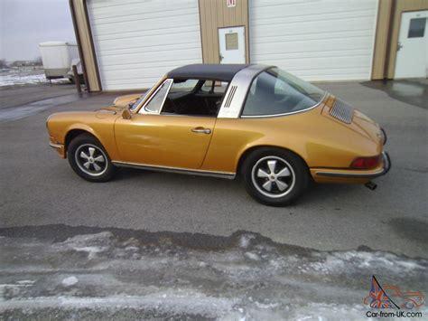 porsche targa 80s 1971 porsche 911t targa rare color excellent