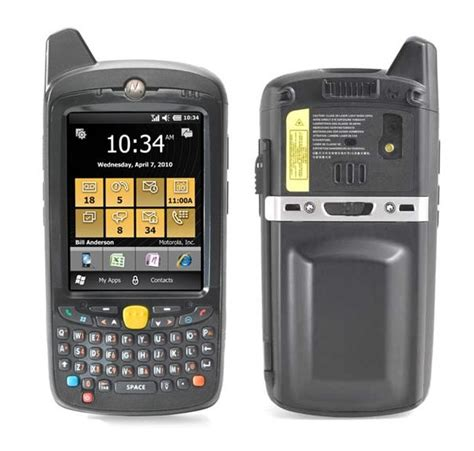 rugged mobile computer motorola mc65 rugged mobile computer gnox systems solution