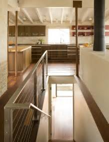 Kitchen Design With Basement Stairs Stair Railing Ideas Staircase Modern With Carpet Texture Basement