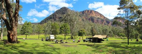The Backyard by Coorongooba Campground In Wollemi National Park Nsw
