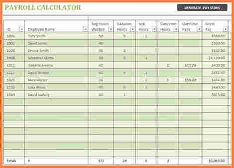 7 Payroll Spreadsheet Template Excel Excel Spreadsheets Group Excel Payroll Template 2017