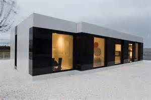 Modular Home Design Online by Modern White Modular House By A Cero Interior Design
