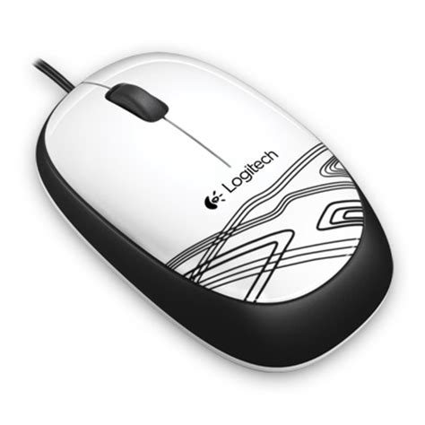 Logitech Wired Mouse M105 T1310 4 Logitech Wired Mouse M105 White Jakartanotebook