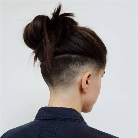 what hair types suit womens undercuts 40 shaved hairstyles for women herinterest com