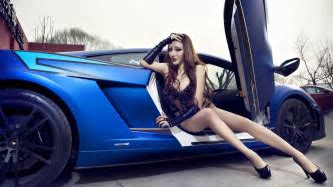 60 Images of Attractive Girls and Vehicles: Sensual pictures ~ Design inspiration 2016