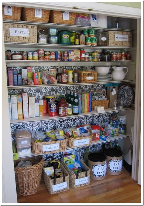 Cheap Country Home Decor by How I Transformed A Coat Closet Into A Pantry In My Own