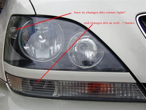 Lexus Rx300 Change by How To Change The Rx300 Corner Light Club Lexus Forums
