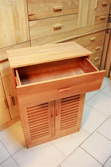 Lemari Kayu Triplek jual lemari sepatu kayu chocolate waikiki wow furniture