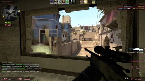 csgo insane kill feed awp sniper clip competitive
