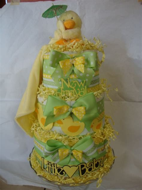 Yellow Green Baby Shower by Ducky Yellow And Green Baby Shower Cake Baby Shower
