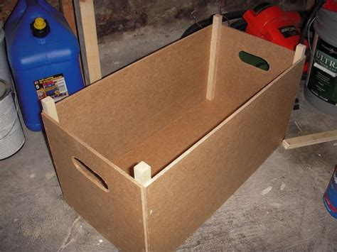 How To Make A Box Out Of Construction Paper - how to make a stackable wooden storage box