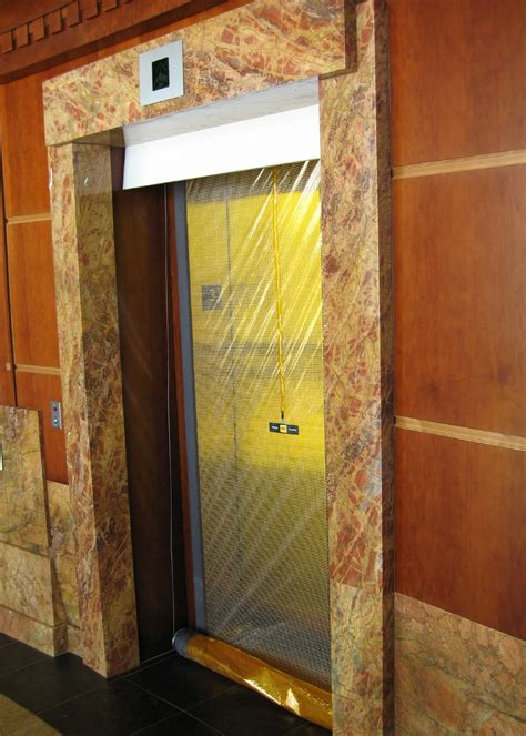 elevator smoke curtain otis elevator stainless frames rsm services inc