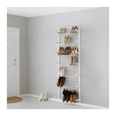 algot wall upright shoe organizer ikea