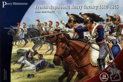 Cavaly Dusty perry miniatures 28mm napoleonic heavy cavalry 1812