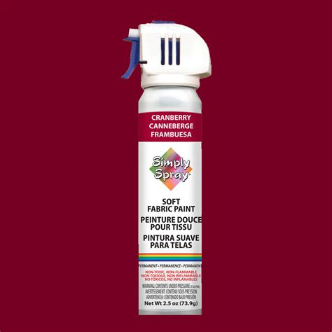 Upholstery Paint Where To Buy by Simply Spray Fabric Paint Cranberry Buy