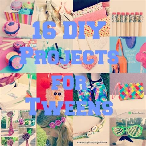 tween craft projects tween diy collage diy for