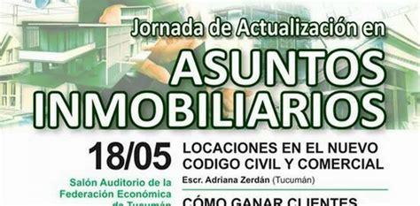 notas nuevo cdigo civil y comercial inmobiliarias en jornada de actualizaci 243 n asuntos inmobiliarios