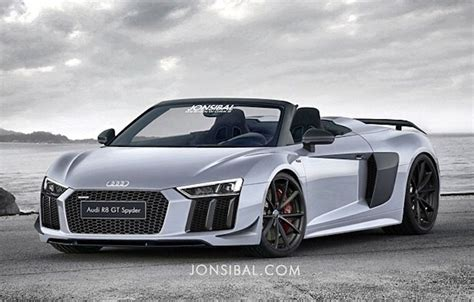 next audi r8 gt spyder rendered way ahead of time