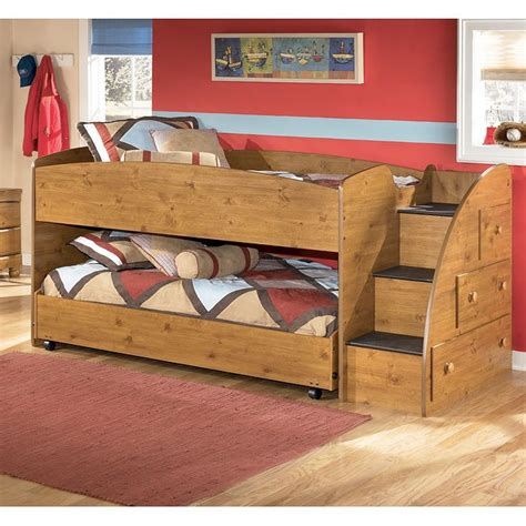 Stages Loft Bed by Stages Loft Bed W Right Steps Signature Design