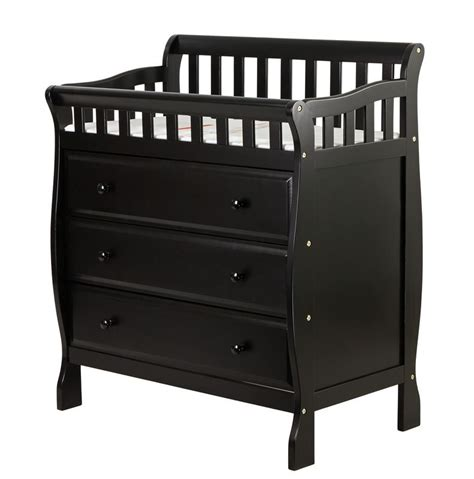 Black Baby Changing Table On Me Changing Table And Dresser Black Baby Baby Furniture Changing Tables