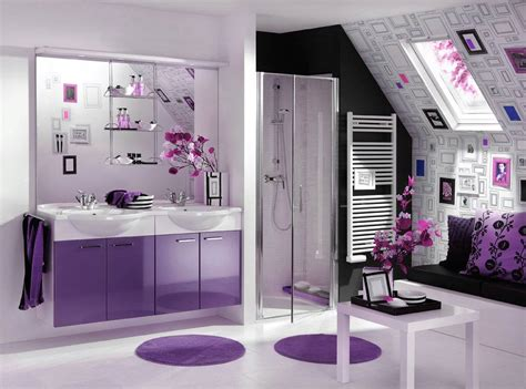 Purple Interior Design with Purple Interior Design Decobizz
