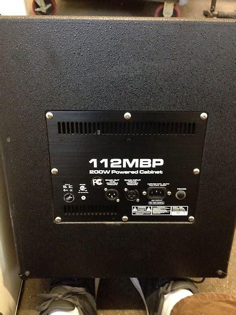 gallien krueger powered cabinets gallien krueger 112mbp 1x12 quot 200 watt powered bass cabinet