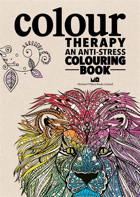 anti stress therapy coloring book colour therapy an anti stress colouring book gallery