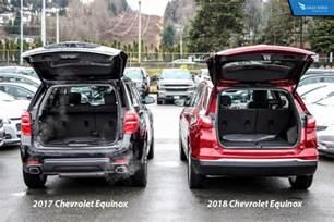 comparison 2018 chevrolet equinox vs 2017 chevrolet equinox