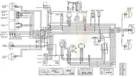 complete circuit diagram complete electrical wiring diagram of 1975 kawasaki kz400