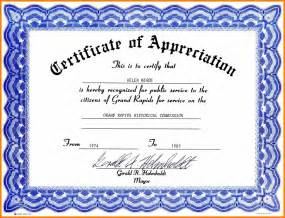 Free Blank Certificate Templates For Word Search Results For Free Certificate Of Appreciation