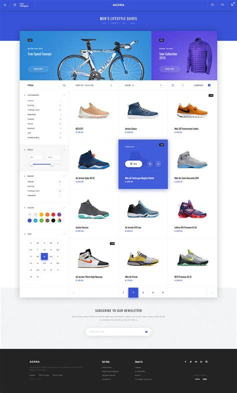 category designs agora ecommerce psd template by svetlov themeforest