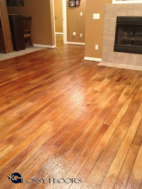 Hardwood Floor On Concrete with Concrete Wood Floors