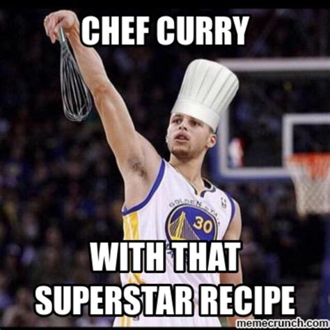 Steph Curry Memes - lol he s a chef xd stephen curry know your meme