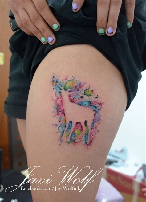deer watercolor tattoo 149 best images about on watercolor galaxy