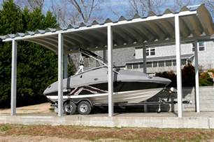 Metal Boat Carports Carports And Steel Covers By Steelmaster Buildings