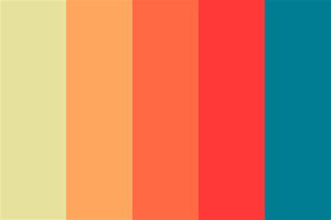 warm colors palette nice warm hues color palette