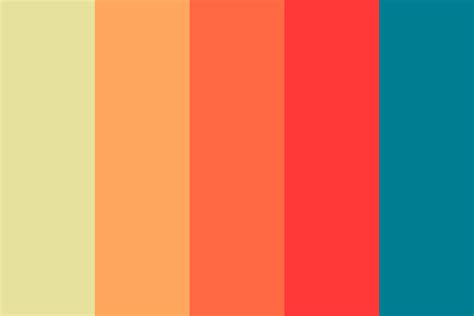 Nice Warm Hues Color Palette