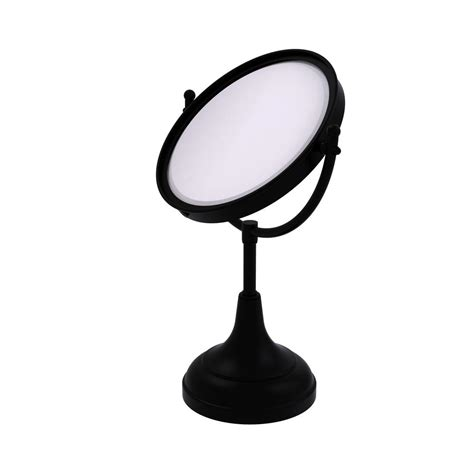 home depot lighted mirrors zadro 15x lighted magnification spot mirror in black fc15l